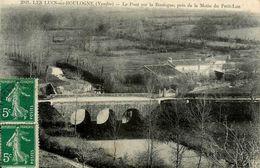 Les Lucs Sur Boulogne * Un Coin Du Village , Le Pont Sur La Boulogne , Près De La Motte Du Petit Luc - Les Lucs Sur Boulogne