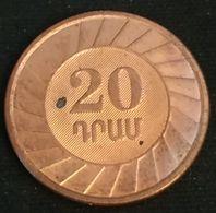 ARMENIE - ARMENIA - 20 DRAMS 2003 - KM 93 - Armenien