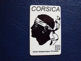 Carte Prépayée: Corsica 50ff 7,62e - Francia