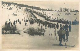 Villard De Lans * Carte Photo * Concours Fédéral 1929 * Sauteur Venant De Franchir Tremplin * Ski Skieur Sports D'hiver - Villard-de-Lans
