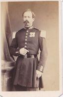 PHOTO ANCIENNE CDV PORTRAIT  MILITAIRE  A IDENTIFIER  GENDARME ? G PREVOST PARIS - Old (before 1900)