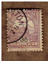 HONGRIE.  (Y&T) 1900-04. .n°49    * Chiffres Noirs *    35fi*  Obli - Used Stamps