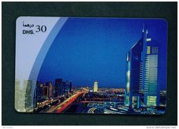UNITED ARAB EMIRATES - Remote Phonecard As Scan - Emirati Arabi Uniti