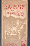 (Suisse)  Offizielle Karte De Automobil-club Des Schweiz  (M0390) - Cartes Géographiques
