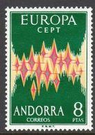 Spanish Andorra (1972 Mi#71 EUROPA) MNH SuperB Cat.Val. € 150.00 - Ungebraucht