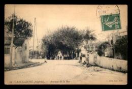 ALGERIE - CASTIGLIONE - AVENUE DE LA MER - Otras Ciudades