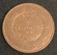 HONDURAS - 2 CENTAVOS 1974 - KM 78a - Honduras