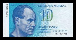 Finlandia Finland 10 Markkaa 1986 Pick 113a(39) SC UNC - Finland