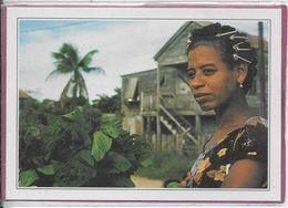 BELIZE .- Portrait De Femme - Honduras