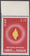 Paraguay 1960 - Universal Declaration Of Human Rights By UN - Mi 853 ** MNH - Paraguay