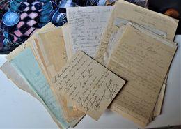 Très Rare Magnifique Lot De 65 Lettres De Deux Frères Sur Le Front De Décembre 1914 à Janvier 1919 - 1914-18