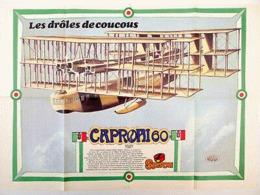 """POSTER """" DROLES DE COUCOUS ELLEHAMMER """" Supplement Au Spirou N° 2357 De  1983 - Spirou Magazine"""