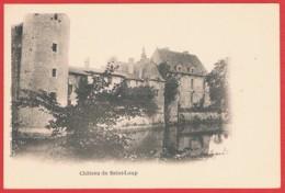 79 SAINT LOUP SUR THOUET - CPA RR DND TGP NV - Château De Saint-Loup Et Ses Douves - Saint Loup Lamaire