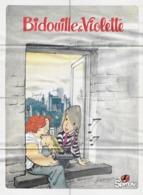 """POSTER """" BIDOUILLE Et VIOLETTE  """" Supplement Au Spirou N° 2365 De  1983 - Spirou Magazine"""
