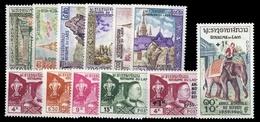 1959, Laos, 89-92 U.a., ** - Laos