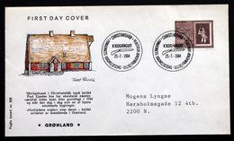 Greenland 1984 250th Anniversary Of Christianshab  MiNr.152  FDC ( Lot Ks) - FDC