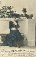 4 AKs Liebespaar Beim Rendevouz - Farblithos 1903 Sonthofen - 1x Nachsendung #31ff - Couples