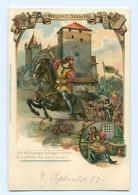 Y9098/ Nürnberg Eppeleinssprung  Litho Präge AK Ca.1900 - Deutschland