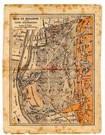 Carte Bois De Boulogne Jardin D Acclimatation Puteau Plan - Cartes Géographiques