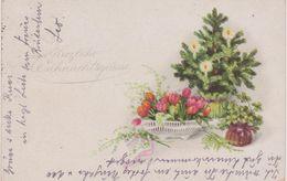Deutschland 1919.Herzliche Weihnachtsgrüße. H&S B. Gebraucht - Noël