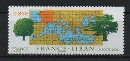Timbre Neuf De 2008 N° 4323 France Liban - France