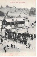 88     L'hiver Dans Les Vosges   Préparation Pour Un Concours De Ski - France