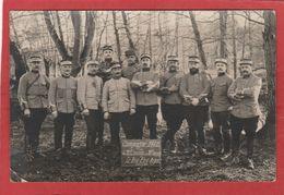 Guerre 1914-1918 - Carte-photo 10e Régiment De Chasseurs - 11e Escadron - Campagne 1914-1915 - Guerre 1914-18