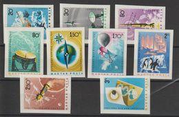 Hongrie 1965 Année Int. Du Soleil Calme 1712-20 Non Dentelé Imperforated ** MNH - Hongrie