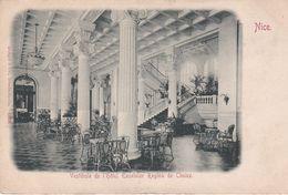 Pionnière. NICE (06) Vestibule De L' Hôtel EXCELCIOR REGINA DE CIMIEZ - Pubs, Hotels And Restaurants