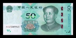 China 50 Yuan Mao Tse-Tung 2019 Pick New SC UNC - China