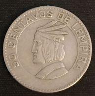 HONDURAS - 50 CENTAVOS 1967 - KM 80 - Honduras