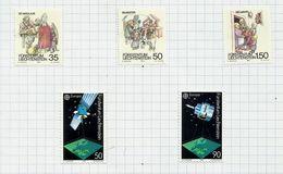 Liechtenstein N°949 à 953 Neufs Avec Charnière* Cote 6.65 Euros - Neufs