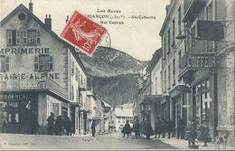 CPA Briançon Ste Catherine Rue Centrale - Briancon