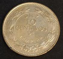 HONDURAS - 10 CENTAVOS 1995 - KM 76.3 - Honduras