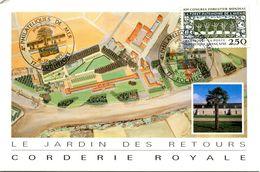 Bureau Temporaire Rochefort - Philatéliques De La Mer - Novembre 1991 - Y 189 - Marcofilia (sobres)