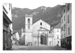 MOÛTIERS - Cathédrale Tarentaise, Façade Ouest (reproduction) - Moutiers