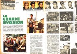 "REPORTAGE  "" STEVE Mc QUEEN  "" "" LA GRANDE EVASION ""  1963 (1) - Merchandising"