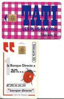 L28b) 2 Télécartes (50) France 1995 - Francia