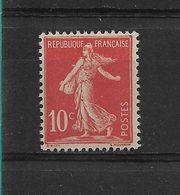 FRANCE    N° 134    NEUF SANS CHARNIERE - 1906-38 Semeuse Con Cameo