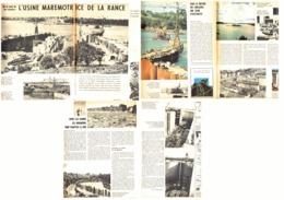 "SAINT-MALO   "" L'USINE AUTOMOTRICE De La RANCE ""  1963 (1) - Bretagne"
