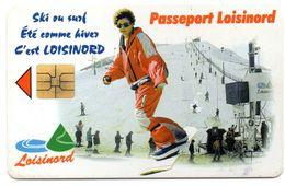 """Ancienne Carte à Puce Passeport """" LOISINORD"""" De La Ville De NOEUX-les- MINES  (Voir Photos Recto/verso Et Description) - Otros"""