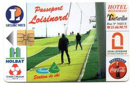 """Ancienne Carte à Puce Passeport """" LOISINORD"""" / LECLERC à NOEUX  (Voir Photos Recto/verso Et Description) - Otros"""