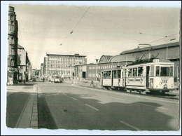V503/ Kiel Bahnhof Straßenbahn AK 1958 - Kiel