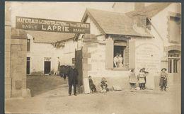 Matériaux De Construction En Tous Genres LAPRIE - Maison Commerce Atelier Au Dos Indications BIGANOS - PHOTO Carte - To Identify