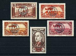 Siria (Francesa) Nº A-107/11**/* Cat.45,40€ - Syrie (1919-1945)