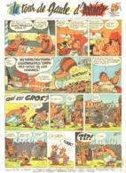 """PLANCHE """" ASTERIX LE TOUR DE GAULE   """"   1963 ( 2 ) - Objets Publicitaires"""