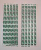 MARIANNE DE BEQUET N° 1891 NEUF ** En FEUILLE COMPLETE De 100 TIMBRES COIN DATÉ 1977 Avec PETITES VARIÉTÉS NOMBREUSES - Full Sheets