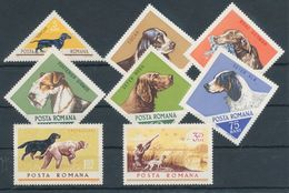 1965. Romania - Dogs - Stamps