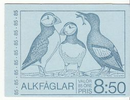ZWEDEN POSTZEGELBOEKJE ALKEN UITGAVE 1976 - Carnets