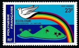 POLYNESIE 1978 - Yv. PA 141 **   Cote= 3,10 EUR - Ecologie. Protégeons La Nature  ..Réf.POL25194 - Poste Aérienne